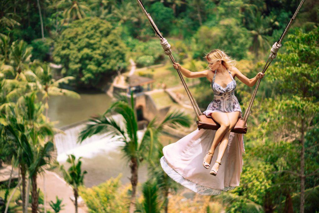 Фотосессия на Bali Swing
